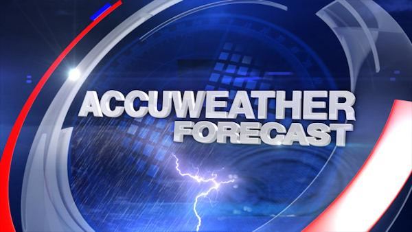 AccuWeather: Rain on the way