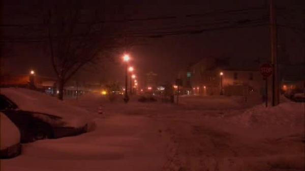 Residents in Freehold dig out from a foot of snow