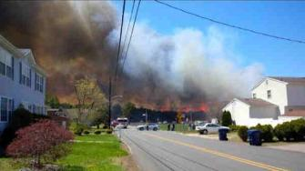 beachwood forest fire