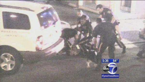 Atlantic City police beating caught on camera