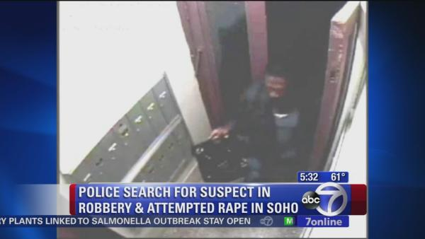 Police search for suspect in SoHo robbery, attempted rape