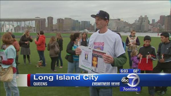 Vigil held for missing autistic teen