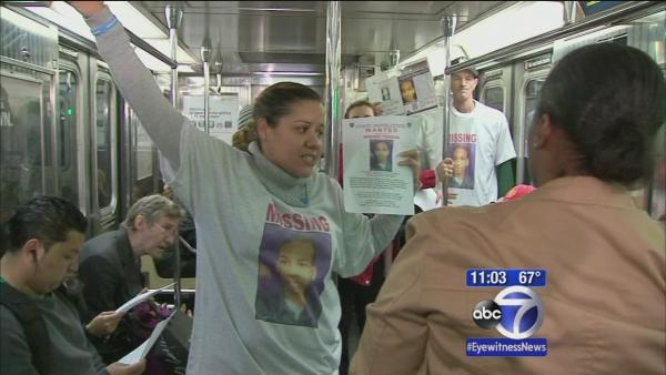 Family, volunteers search subways for missing autistic boy