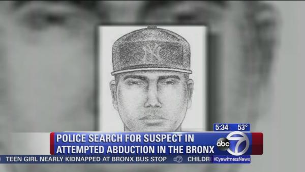 Police search for man who tried to abduct teen from Bronx bus stop