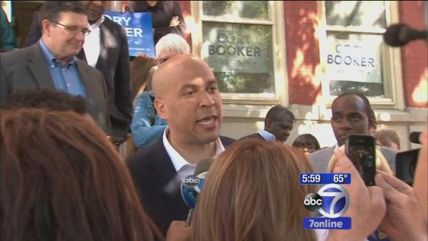 Booker, Lonegan spar over residency ahead of election