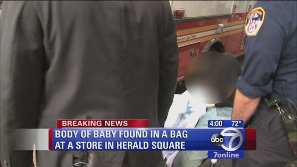 Body of baby found in teen's bag in Victoria's Secret