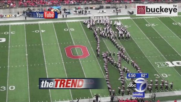 OSU Marching Band honors Michael Jackson