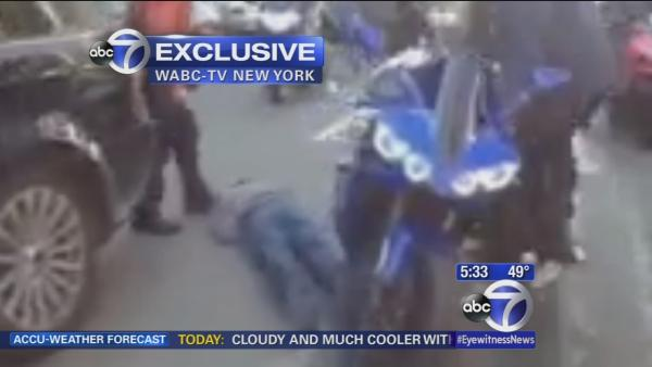Exclusive video shows biker assault