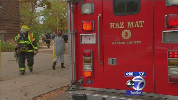 Multiple people sickened over unknown substance at school on Long Island