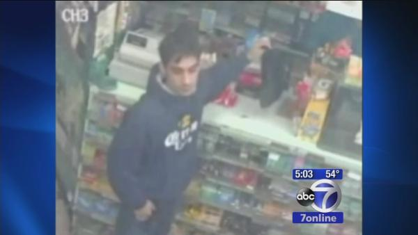 New video of suspect who attacked cab driver with box cutter