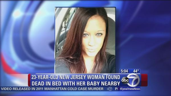 Young mother found strangled to death in New Jersey