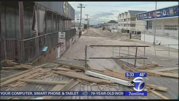 Sandy 1 year later - Seaside Heights