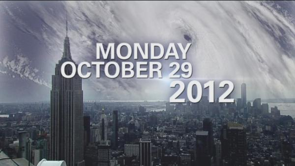 Superstorm Sandy 1 year later - Montage