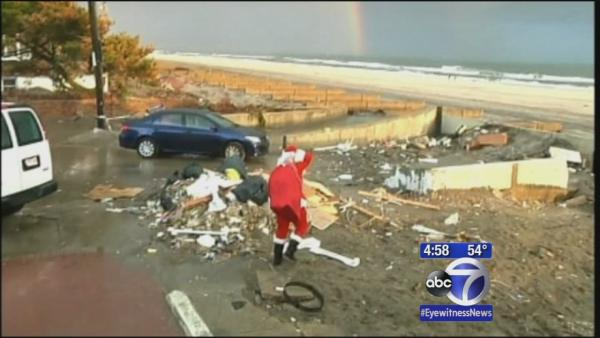'Sandy Claus' bringing toys and joy to Sandy victims