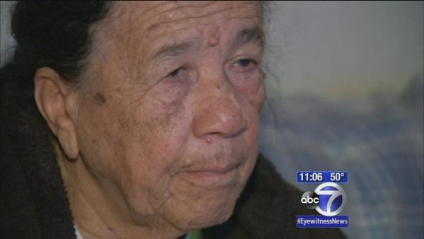 Elderly Bronx shooting victim speaks to Eyewitness News
