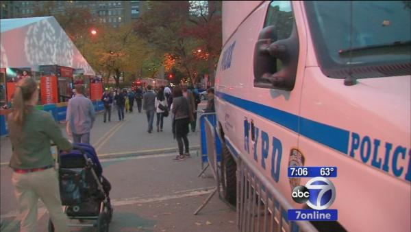 Security heightened along marathon route