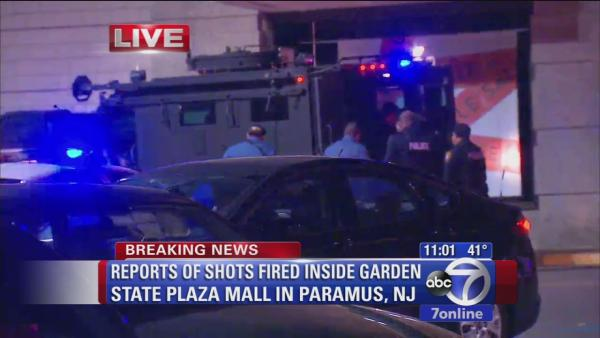 Shots fired in NJ mall
