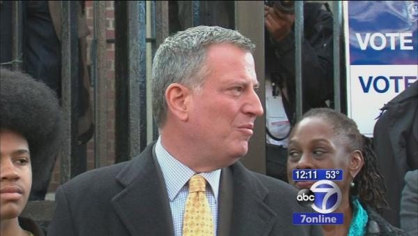 Lhota, de Blasio face off in NYC mayor race