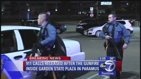911 calls released in gunfire at Garden State Plaza