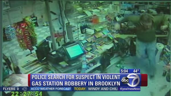 Violent robbery caught on camera in Brooklyn
