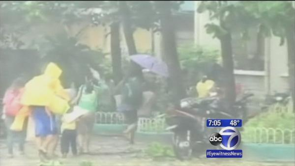 Over 100 killed in Philippines Typhoon