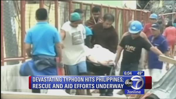 Typhoon Haiyan makes landfall in Vietnam
