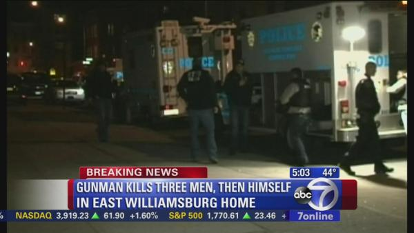 4 dead in Williamsburg murder-suicide