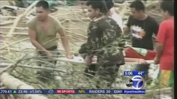 US organizations on the ground in the Philippines