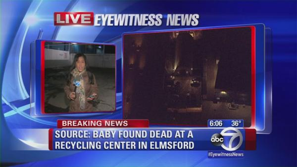 Baby found dead at recycling center