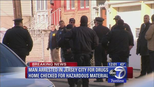 Suspect arrested in New Jersey drug investigation