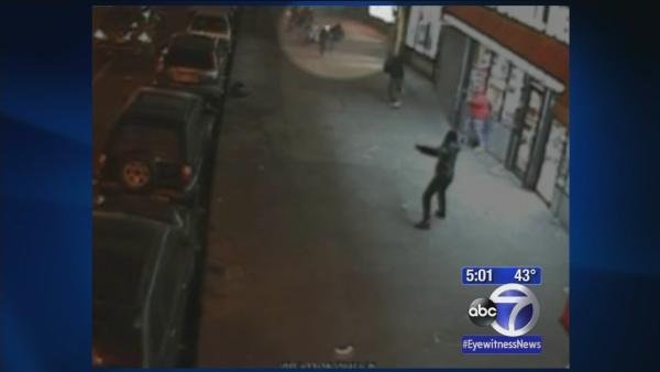 Video released of point blank shooting
