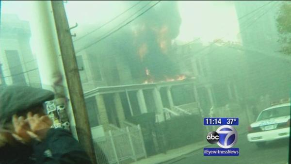 Neighbors rescue disabled resident, child in Bronx fire