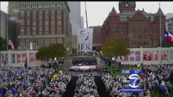 JFK assassination remembered 50 years later
