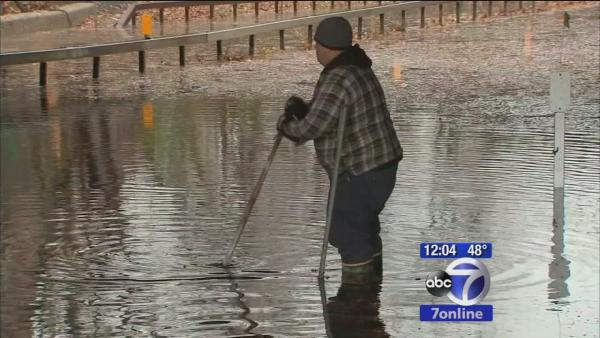 Flooding problems in Westchester