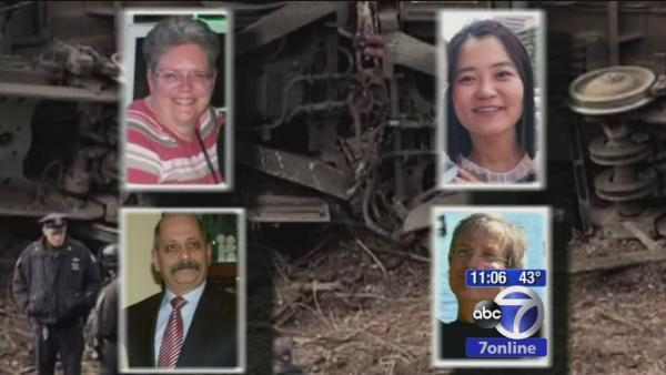 Victims of train derailment remembered with vigil