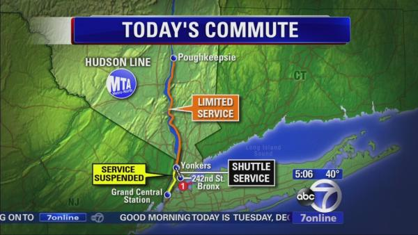 Commuters finding alternate routes due to derailment