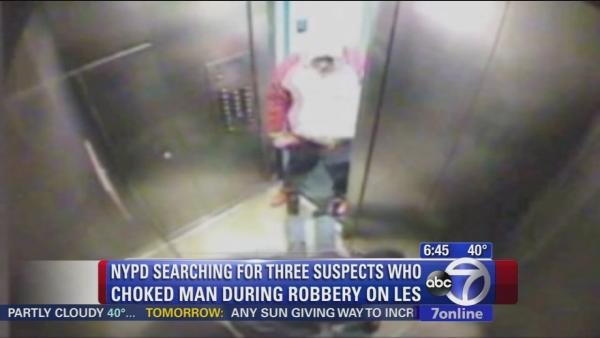 Search on for attackers who mugged man in elevator