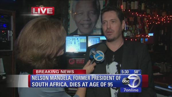 South African restaurant owner remembers Mandela