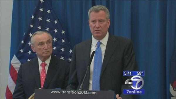Bill Bratton named new NYC police commissioner