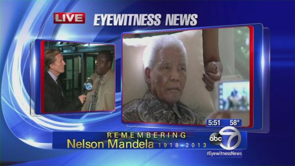 South African ambassador remembers Nelson Mandela