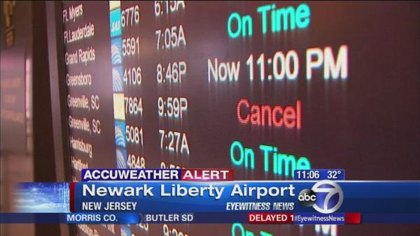 Winter weather has affect on air travel