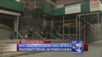 Barruch College student dies after apparent frat ritual
