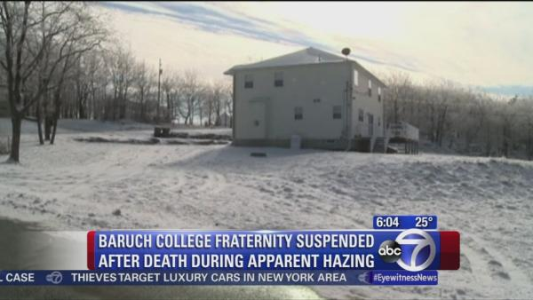 Possible hazing death of Baruch College student
