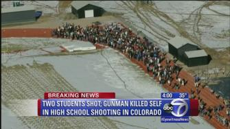 Gunman dead in shooing at Colorado high school