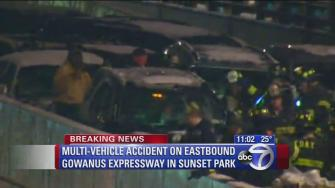 Multi-vehicle crash on Gowanus Expressway