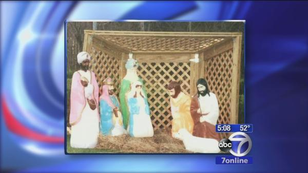 Parts of nativity stolen in St. James