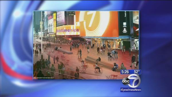 Times Square gets a makeover