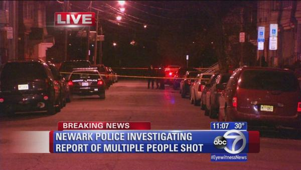 Newark Police investigating reports of 3 shot