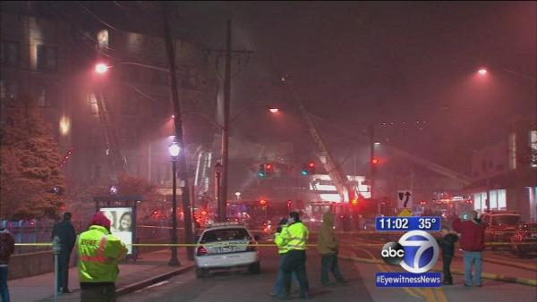 Fire destroys Dollar K store in Yonkers