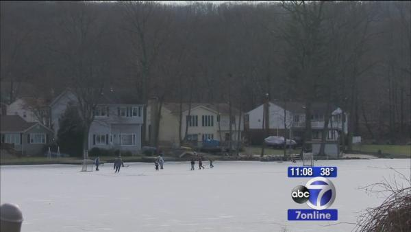 Denville teen saves friend who fell through ice